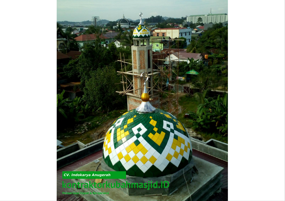 harga kubah masjid modern